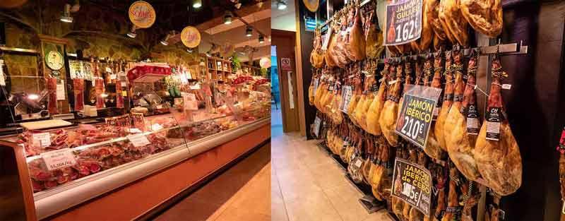 Interior de la tienda de Cahesa en Santa Coloma de Gramanet